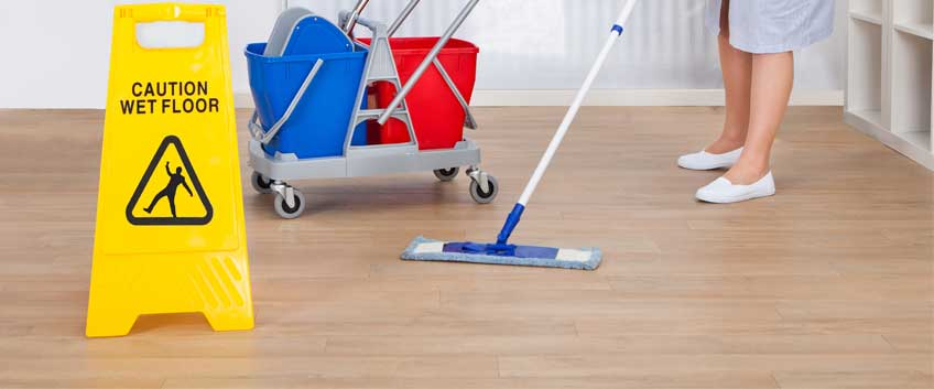 How to clean the parquet floors at your office