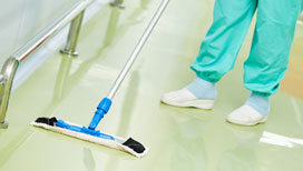 Precise medical office cleaning