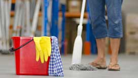 Professional post construction cleaning