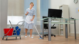 Superior office building cleaning