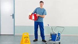 Excellent building cleaning services
